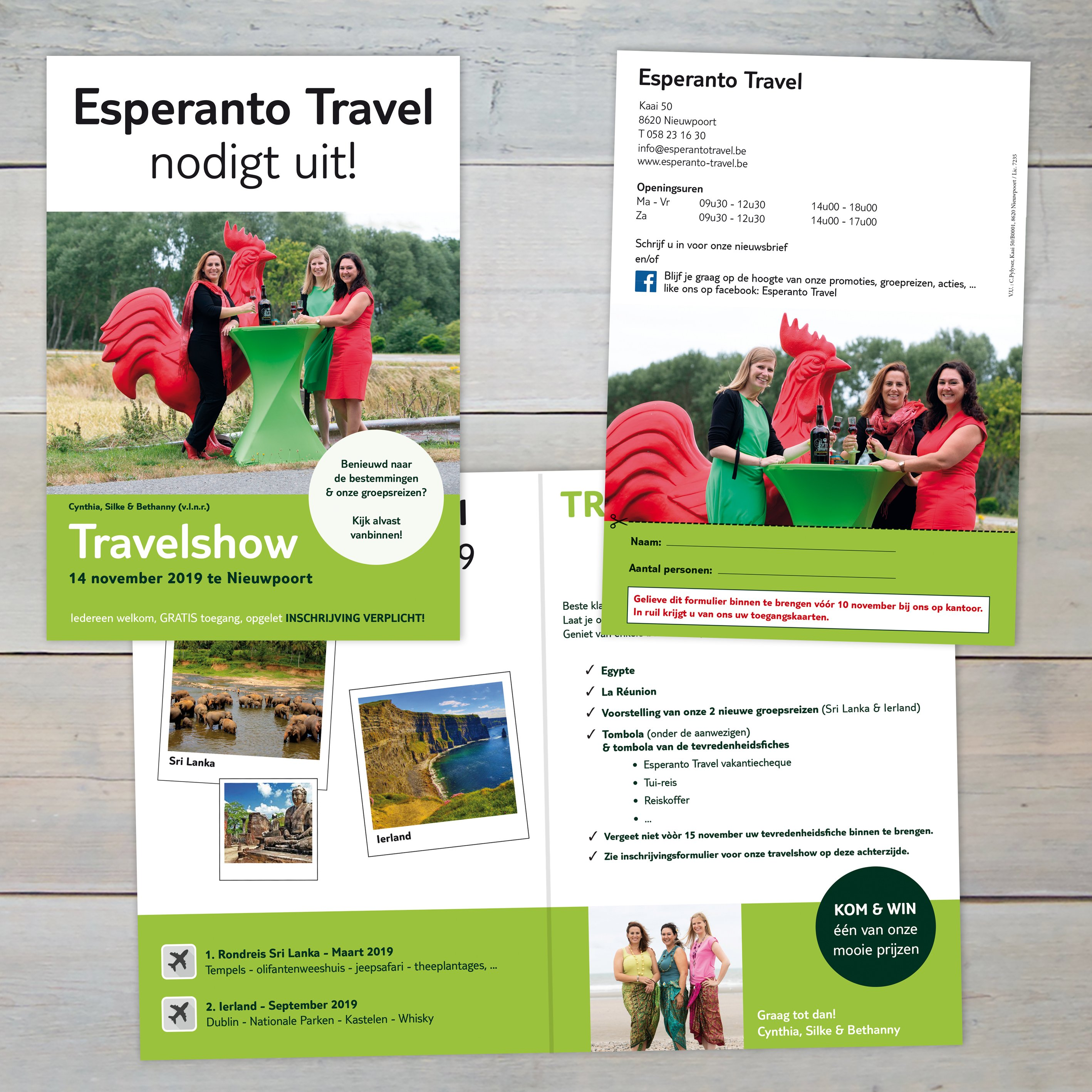FOLDERS - Esperanto Travel